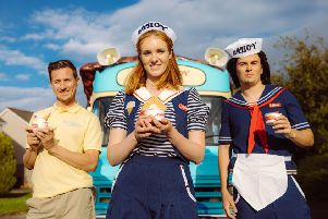 The Stranger Things Scoops Ahoy ice-cream van is coming to Sussex