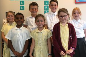 Young critics from Fishbourne Primary School