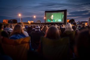 The Littlehampton Town Council organised Screen On The Green - The Greatest Showman screening on 17th August 2018. Picture: Scott Ramsey