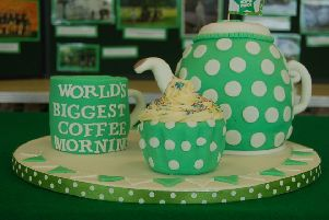 Macmillan's Coffee Morning returns next month