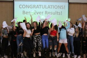 The Regis School celebrates its 'best ever' GCSE results