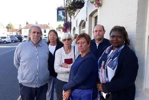 Residents, business owners and councillors have expressed their dismay at plans to divert traffic through Westbourne due to works on Emsworth Common Road. Photo: Kate Shemilt