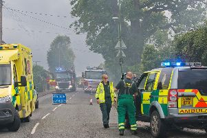 House fire in Henfield