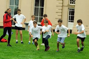 Westbourne House School Triathlon. Photo: Kate Shemilt ks190560-13