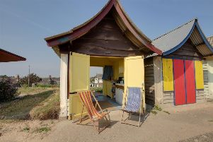 South Promenade beach chalet at Mablethorpe