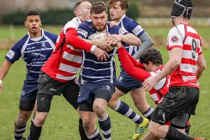 Boston Rugby Club v Chesterfield Panthers. Photo: David Dales.