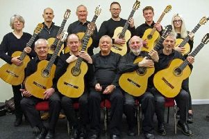 SOLO Classical Guitar Ensemble of South Lincolnshire present Time Lines with the Classical Guitar. Picture: Earl Marsh. EMN-190703-132912001