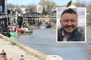 Alistair Arundell (pictured) has been nominated for a bravery award for saving a woman from drowning in the River Witham in Boston.