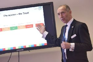 United Lincolnshire Hospitals Trust chief executive confirms departure date
