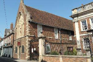 The new history tours will feature many local landmarks, including Boston's Guildhall Museum (pictured), and far right, Fydell House.