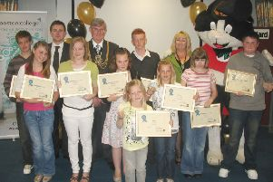 The Young Pride in the Community Awards in 2009.