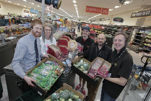 Aldi is teaming up with local causes to get surplus food to vulnerable people in the area of its branches.