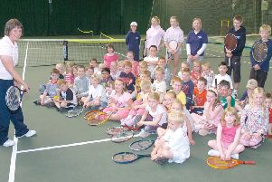 Boston Tennis Club 10 years ago.
