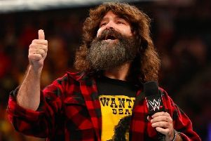 Legendary wrestler Mick Foley.