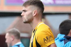 Tom Clare can't wait to report back for Boston United training