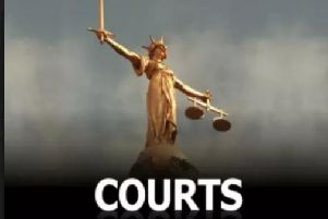 Woman in court