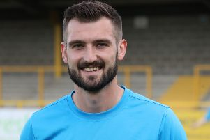 """""""He's biting at my heels!"""" Pressure brings out the best in Boston United keeper Crook"""