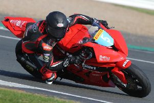 Aaron Clarke makes welcome return at Cadwell Park