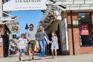 A new name has been added to the list of high street brands at Springfields, near Spalding.