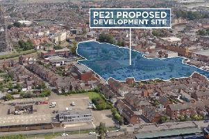 The area earmarked for the PE21 development
