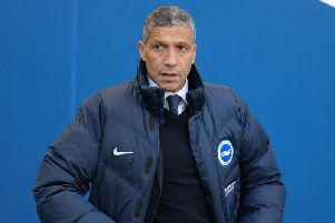 Brighton manager Chris Hughton.'Picture by PW Sporting Photography.