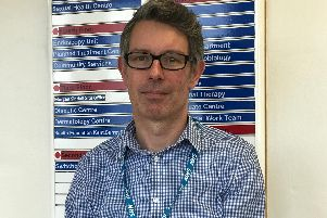 Ed Cassidy, a senior manager in mental health commissioning for Crawley, Horsham and Mid Sussex CCGs