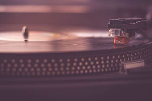 Growth in vinyl record sales