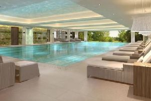 New �14m spa at South Lodge Hotel, Lower Beeding SUS-180903-151453001
