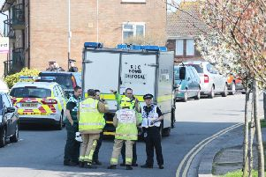 Emergency services respond to reports of 'suspicious items' at Brighton flat