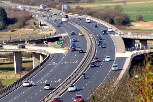 Delays have been reported on the A27 (file picture)