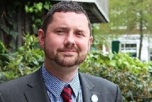 Councillor Phelim Mac Cafferty