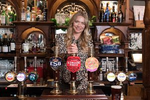 Model and publican Jodie Kidd is spearheading a new Long Live the Local campaign SUS-180719-131115001