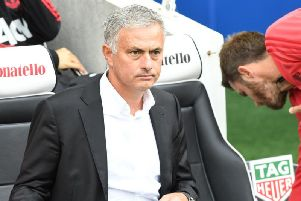 Manchester United manager Jose Mourinho. Picture by Phil Westlake (PW Sporting Photography)