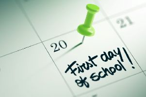 The day all parents look forward to.
