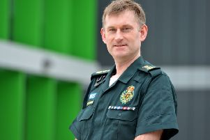 Daren Mochrie, chief executive of South East Coast Ambulance Service NHS Foundation Trust