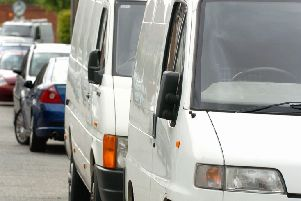 Van and truck drivers are being warned to make sure their tyres are fit for winter conditions