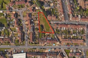 Four new homes are proposed on land east of Manor Close