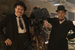 John C. Reilly as Oliver Hardy and Steve Coogan as Stan Laurel. Picture: Entertainment One