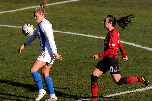 Jenna Legg in action for Brighton. Picture by Getty Images