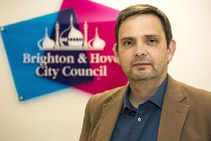 Cllr Daniel Yates, leader of the labour group on Brighton and Hove City Council