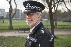 Inspector Mike Rumble has spent most of his career in Sussex