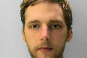 Charles Donald Pleasance, 30, of no fixed address. Picture: Sussex Police