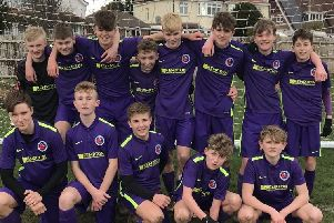 Some of the Barnham Trojans Under 15 squad