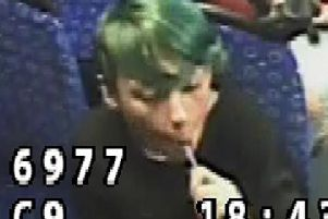 Police released CCTV after the incident