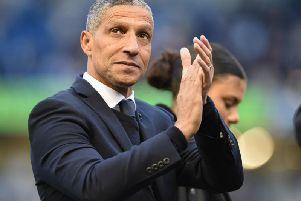 Brighton manager Chris Hughton. Picture by PW Sporting Photography