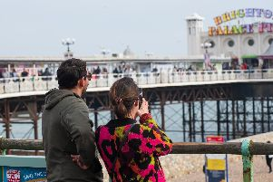 Capturing the Palace Pier on camera
