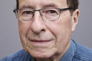 Author Peter James, photographed in Jersey