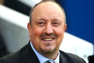 Newcastle United manager Rafa Benitez. Picture courtesy of Getty Images.