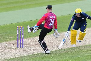 Hants batted first and scored 355-5 in their 50 overs / Picture by www.yasps.co.uk
