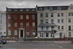 Warren's Law office in Brighton was based at Richmond Place (Credit: Google)